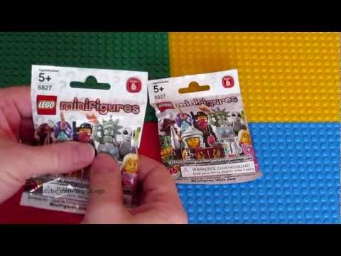 *NEW* 2012 LEGO SERIES 6 Minifigures!!! Opening and Review #9 - 2 bags