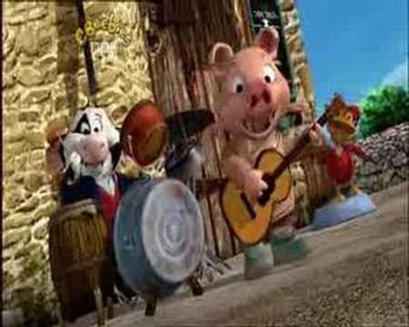 Jakers! Piggley Winks Song - Raloo Rockers and we're on TV!